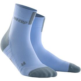 cep Short Socks 3.0 Kobiety, sky/grey